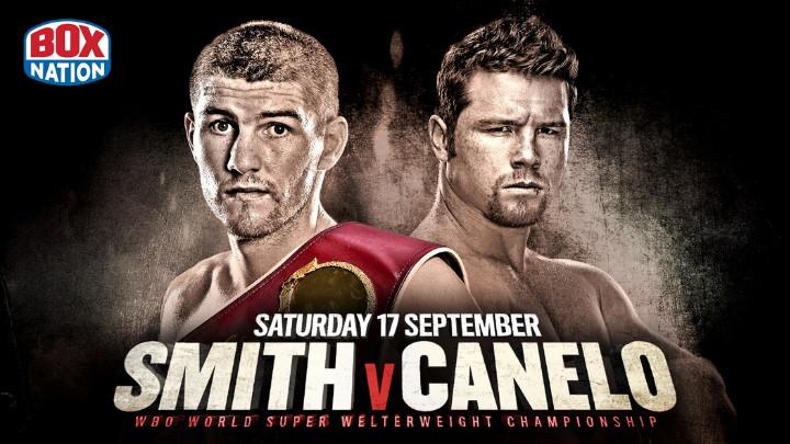 "Liam Smith Saul ""Canelo"" Alvarez Boxing News British Boxing Top Stories Boxing"