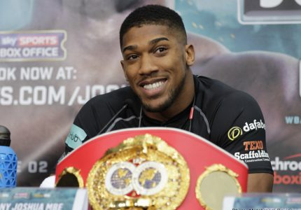 Anthony Joshua wants to be a WORLD champion, says he'd love to fight in Nigeria or Ghana
