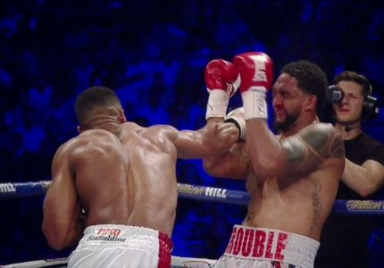 Joshua Stops Breazeale; Groves & Eubank Jr Win – Results