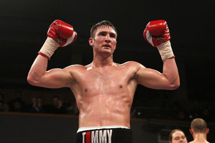Tommy Langford British Boxing Press Room
