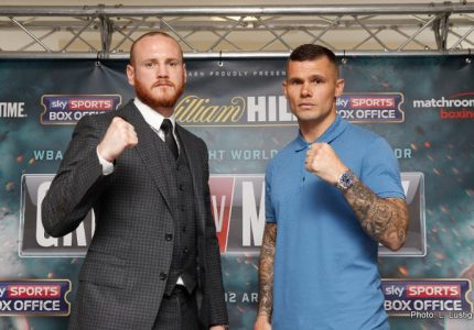 "Groves vs Murray: ""Groves got his name from losing twice to Froch"" – Murray"