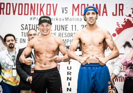 Provodnikov and Molina make weight