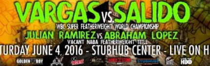 Francisco Vargas battles Orlando Salido on Saturday