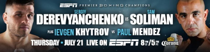 Sergiy Derevyanchenko – Sam Soliman on 7/21