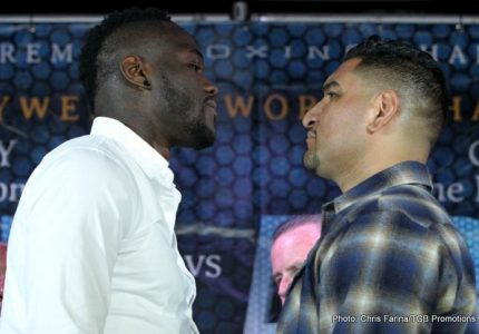 "Team-Wilder not looking past Chris Arreola, ""100-percent focused"" on July 16 clash"