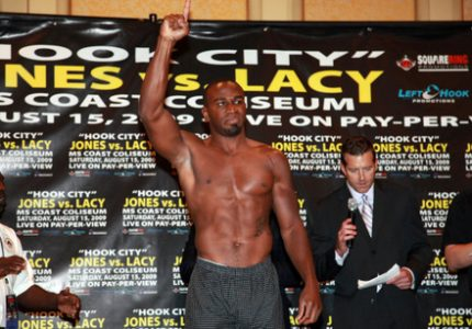 Jeff Lacy to fight in UK Oct. 1st, will face former British light-heavy champ Tony Oakey in white collar event