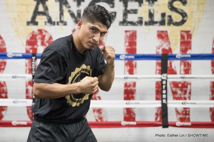 Mikey Garcia Sergey Lipinets Boxing News
