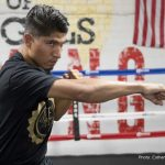Dejan Zlaticanin, Mikey Garcia -  On Saturday night, January 28, 2017, twenty-eight year old professional boxer Mikey Garcia (Moreno Valley, CA by way of Oxnard, CA/pro record: 35-0-0, with 29 KOs) returns to the ring at the MGM Grand in Las Vegas, Nevada, against WBC Lightweight Champion, Dejan Zlaticanin (Podgorica, Montenegro/pro record: 22-0-0, with 15 KOs). Garcia-Zlaticanin is scheduled for twelve rounds in the lightweight division as the co-main event on the Showtime televised fight card. In the main event, Carl Frampton will defend his WBA Super World Featherweight Title in a rematch with Leo Santa Cruz.