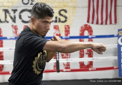 Mikey Garcia vs. Dejan Zlaticanin on 1/28