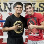 Elio Rojas - The main event is Leo Santa Cruz versus Carl Frampton for the WBA World Featherweight Championship. The co-featured SHOWTIME bout features Mikey Garcia versus former champion, Elio Rojas. Both men are former champions. It's a junior welterweight 10-round bout.