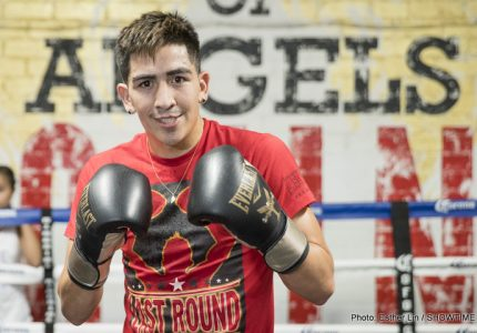 Leo Santa Cruz Interview