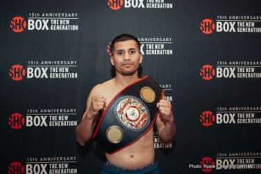 Adam Lopez - With a potential title shot on the line, Adam Lopez and Roman Reynoso fought to a 10-round draw in the main event of the 15-year anniversary telecast of ShoBox: The New Generation Friday on SHOWTIME® from Foxwoods Resort Casino.