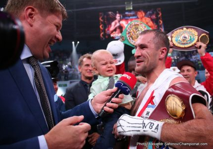 Kovalev: I will be prepared 100% for Andre Ward