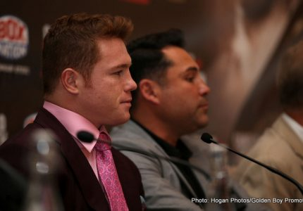 De La Hoya outlines plans for Canelo: one more fight this year, one on Cinco de Mayo 2017, then GGG