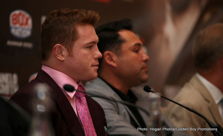 """Saul """"Canelo"""" Alvarez - Back in September of 2013, when he was an undefeated fighter, some people were willing to give Mexican superstar Saul Alvarez a shot at becoming the first man to defeat global superstar Floyd Mayweather Junior. Instead, Canelo was comprehensively outboxed, to the point where a few experts said it looked as though the demoralised fighter was even thinking about pulling a """"no mas"""" and quitting."""