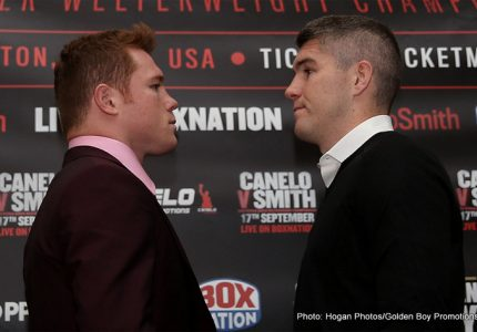 Canelo Blog Part 1: Tuesday, August 30 – Canelo vs Smith