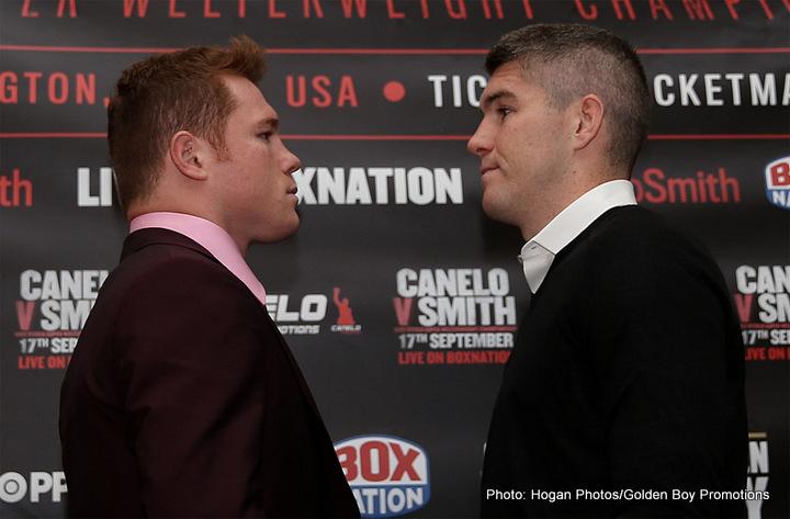 Liam Smith confident of upsetting the odds against Saul 'Canelo' Alvarez
