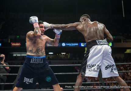 Deontay Wilder to be back inside ring in January