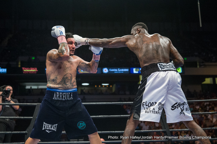 Deontay Wilder - Just one month after his successful title defense against Chris Arreola on July 16, WBC world heavyweight champion Deontay Wilder (37-0, 36 KOs) is on the fast track to recovery following injuries suffered during the bout to his right hand and biceps.