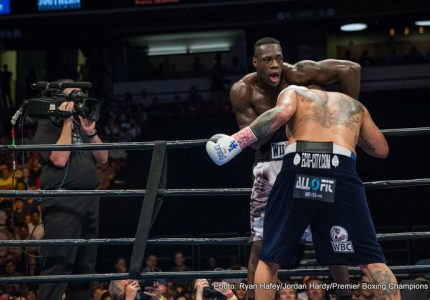 Wilder both hopes and thinks Fury will fight again – wants a showdown, belt or no belt