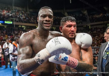 What next for Deontay Wilder, Chris Arreola?