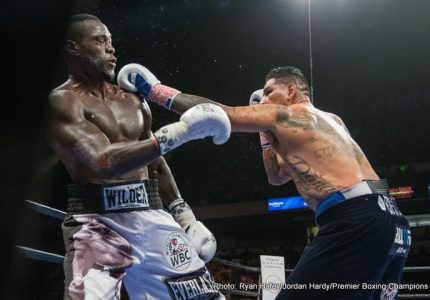 Deontay Wilder says he would have KO'd the great Joe Louis!