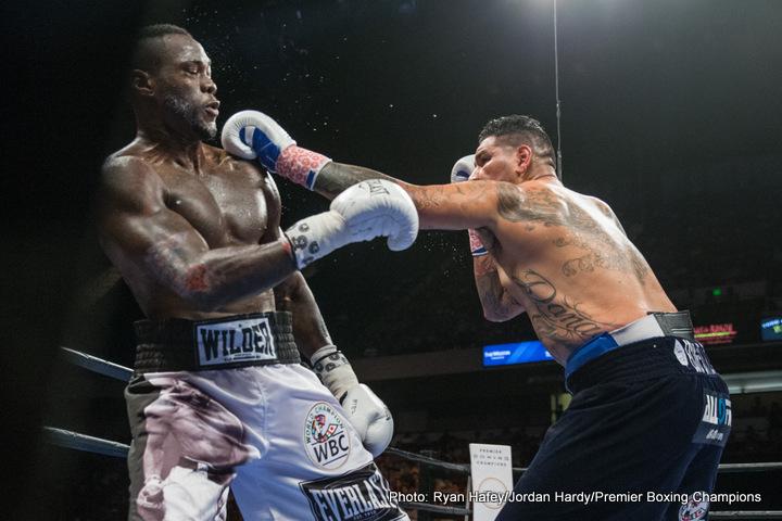 Deontay Wilder Joe Louis Boxing News