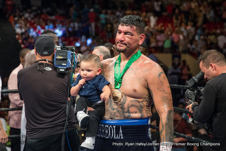 Chris Arreola Jazza Dickens Boxing News Top Stories Boxing