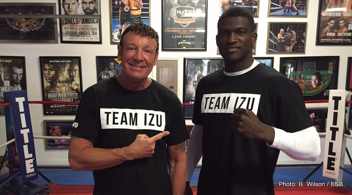 Izu Ugonoh Boxing Interviews Boxing News Top Stories Boxing
