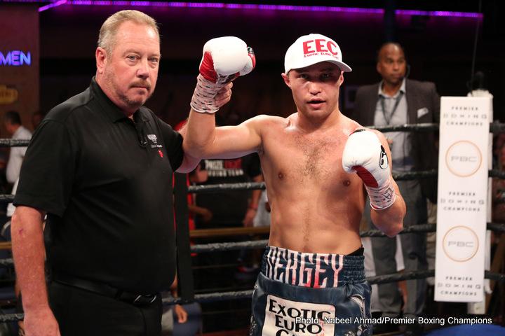 Sergey Lipinets Boxing News Boxing Results