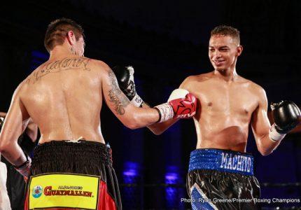 Fabian Maidana stops Jorge Maysonet