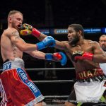 Felix Diaz Jr - LOU DiBELLA:  I am really looking forward to what I think is a really good fight and I am really happy with all of the karma coming out from the media with this fascination with Indongo who has never fought in the US and does not have the resume that Felix does because the more you talk about Indongo, the more mojo is  thrown in our direction.  I know how good Crawford is.  Felix knows how good Crawford is.  The media knows how good Crawford is, but he is not G_d, he is not unbeatable.  He's had tough fights and I think he's had tough fights with guys like Gamboa, who was a little guy who gave him a tough fight for a while and Diaz has a lot of the same attributes when it comes to pressure and style which could make it a very difficult night for Bud.