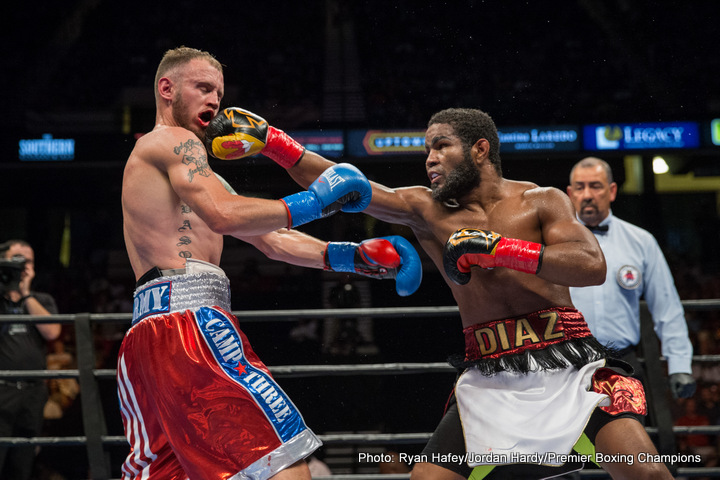 Felix Diaz Jr Boxing Interviews Boxing News