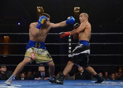 Sam Soliman Sergey Derevyanchenko Boxing News Boxing Results