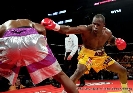 Adonis Stevenson says he wants the Kovalev-Ward winner, is sure he beats either