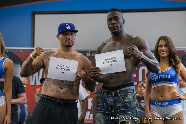 Chris Arreola, Deontay Wilder - Deontay Wilder was forced to reorganize against Chris Arreola, after his scheduled matchup in May with Alexander Povetkin got shelved due to an irregular-trace amount of a newly banned substance. Likely, Wilder will have to face Povetkin in the fall, that's if the WBC agrees with WADA's recent adjustment in their rules on meldonium.  So it's Arreola for Wilder to remain active near his home in the city of Birmingham, Alabama. If the main event doesn't do the trick, the co-feature pits unbeaten Sammy Vasquez in tough with 2008 gold medalist Felix Diaz.