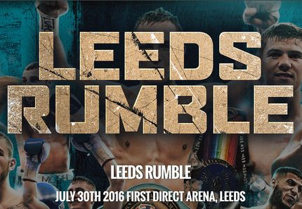 Warrington vs Hyland  in Leeds on July 30