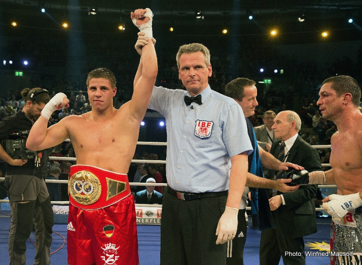 Paul Smith - WBA World super middleweight champion Tyson Zeuge (21-0-1, 11 KOs) won a 12 round unanimous decision tonight over #5 WBA Paul Smith (38-7, 22 KOs) at the Rittal Arena in Wetzlar, Hessen, Germany. Smith gave it his best shot, but he lacked the technical skills overcome the 25-year-old Zeuge, who controlled the fight throughout with his jab. Smith didn't start attacking until the last 3 rounds when things were looking bleak for him. By that point, Smith needed a knockout, but it wasn't going to happen.