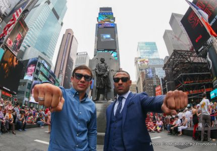Golovkin-Brook tickets sell out in 11 minutes!