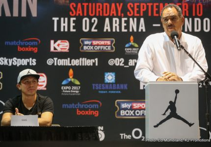 "Abel Sanchez says ""nobody at 160 will last the distance with Golovkin,"" but will these words come back to haunt him?"
