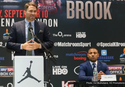 Eddie Hearn: Maybe I'm clutching at straws, but I thought GGG looked a little bit drawn