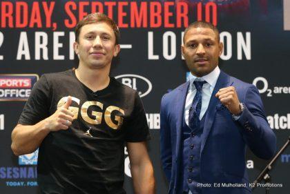 Gennady Golovkin vs Kell Brook Press Conference