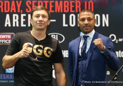 "Gennady Golovkin: ""I hit harder every day"""