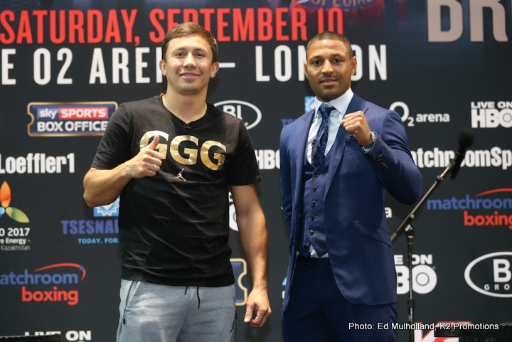 Gennady Golovkin vs Kell Brook Press Conference