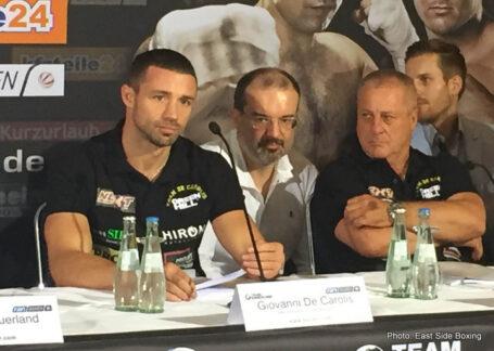 Arthur Abraham, Giovanni De Carolis, Tim-Robin Lihaug, Tyron Zeuge - Boxing News