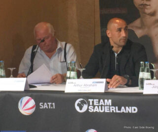 Arthur Abraham, Giovanni De Carolis, Tim-Robin Lihaug, Tyron Zeuge - Weigh-In Results from Berlin: