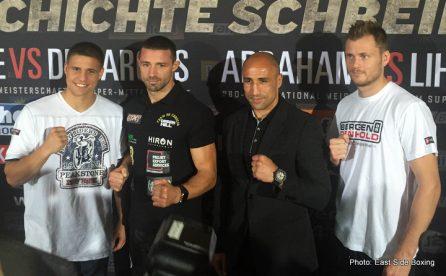 Anthony Ogogo Arthur Abraham Giovanni De Carolis Tim Lihaug Tyron Zeuge Boxing News British Boxing