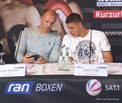 Giovanni De Carolis Tyron Zeuge Boxing News