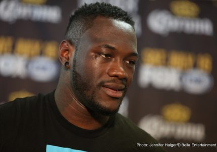"Deontay Wilder in nasty mood ahead of Arreola fight; says ""it's good to send opponents to the hospital once in a while"""