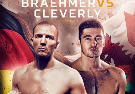 Juergen Braehmer faces Nathan Cleverly on 10/1
